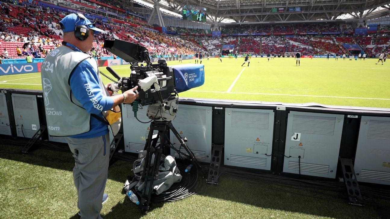 World Cup TV Camera