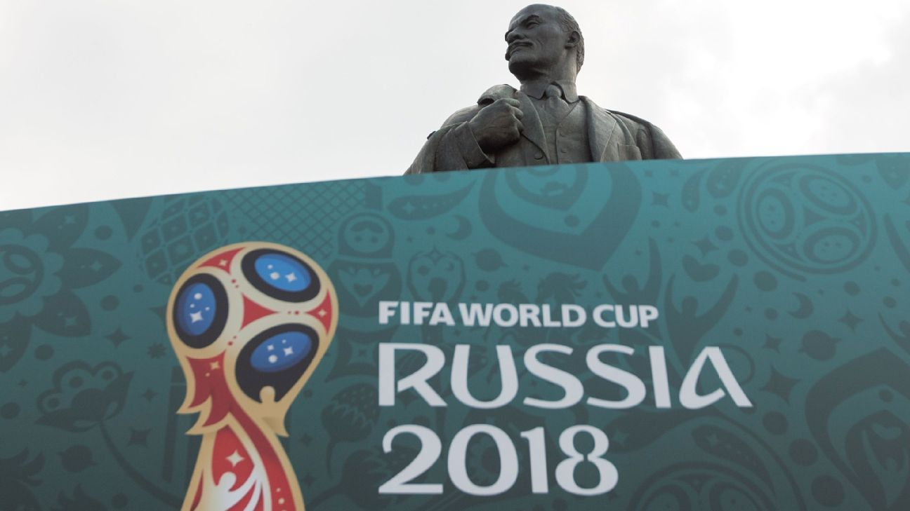 Russia's history is not in the foreground at this summer's World Cup.