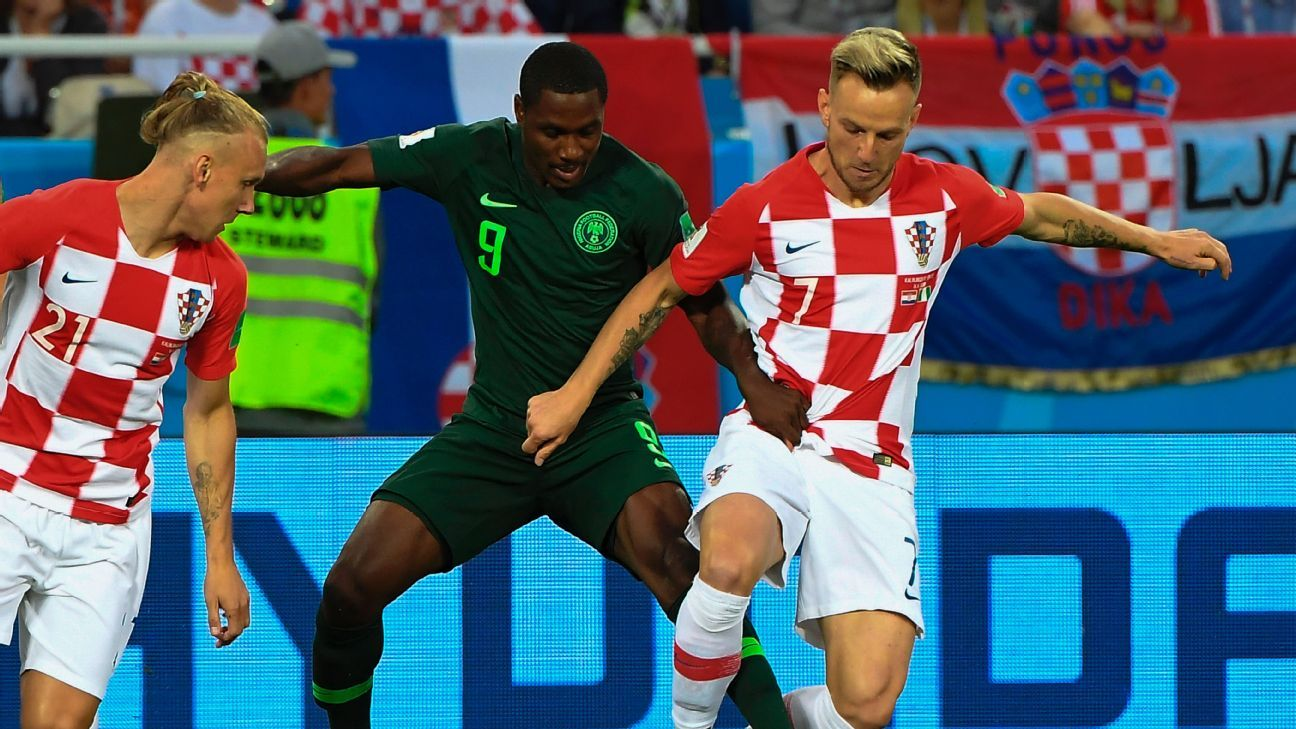 Croatia were happy to double team lone Nigeria striker Odion Ighalo, a tactic which Iceland will use as well.