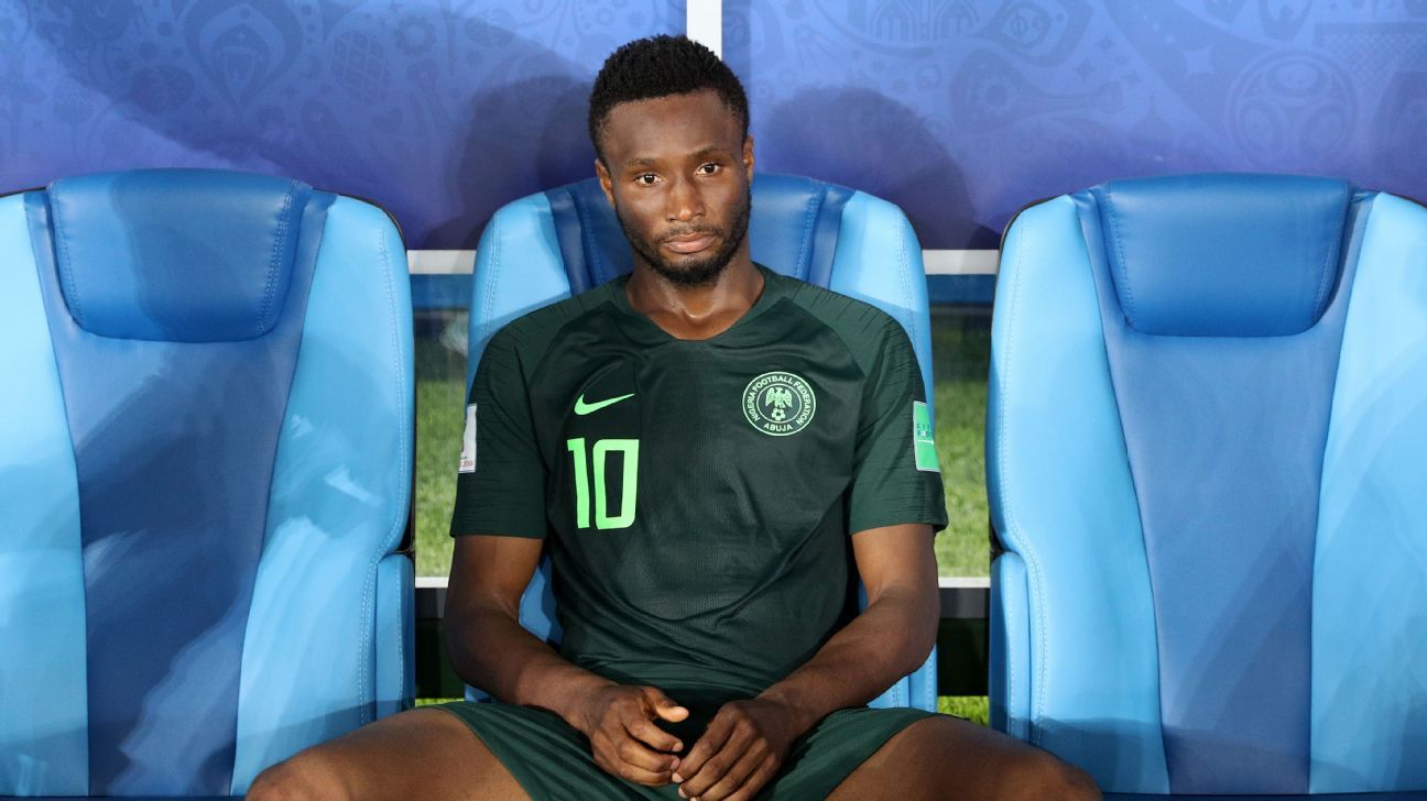 John Obi Mikel will not face South Africa.