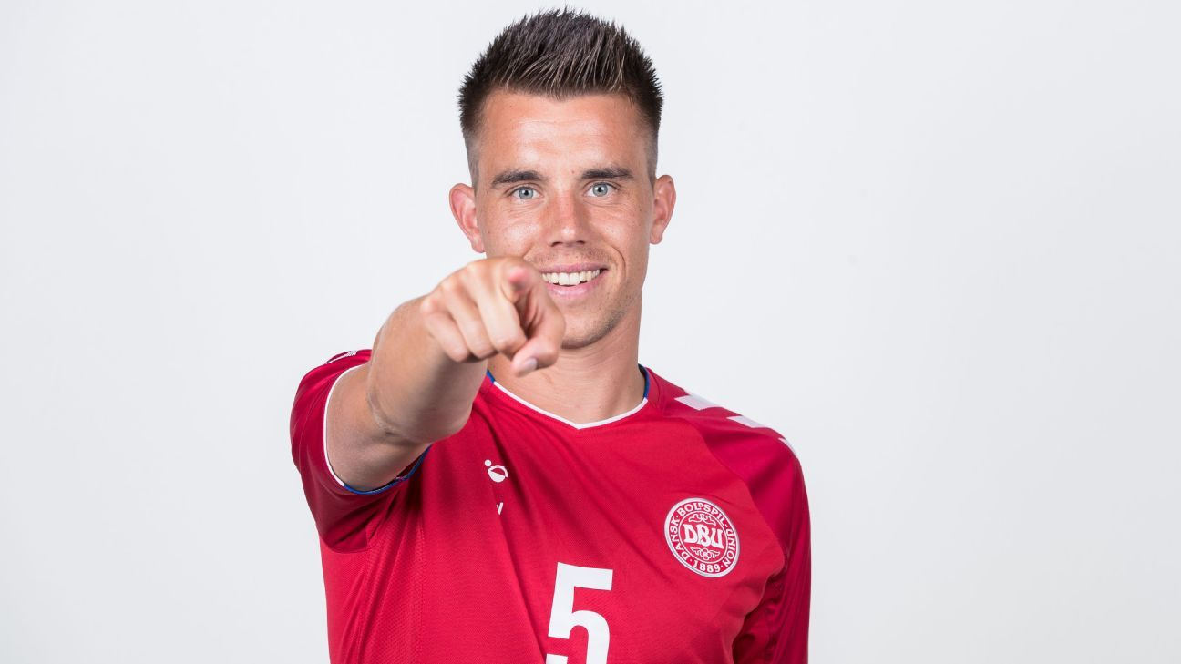Jonas Knudsen is part of Denmark's squad for the World Cup.