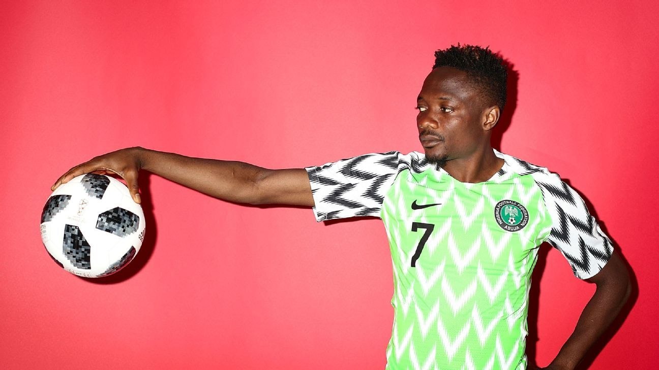 Ahmed Musa is a real threat in front of goal... but don't ask him to cross the ball from the wing.
