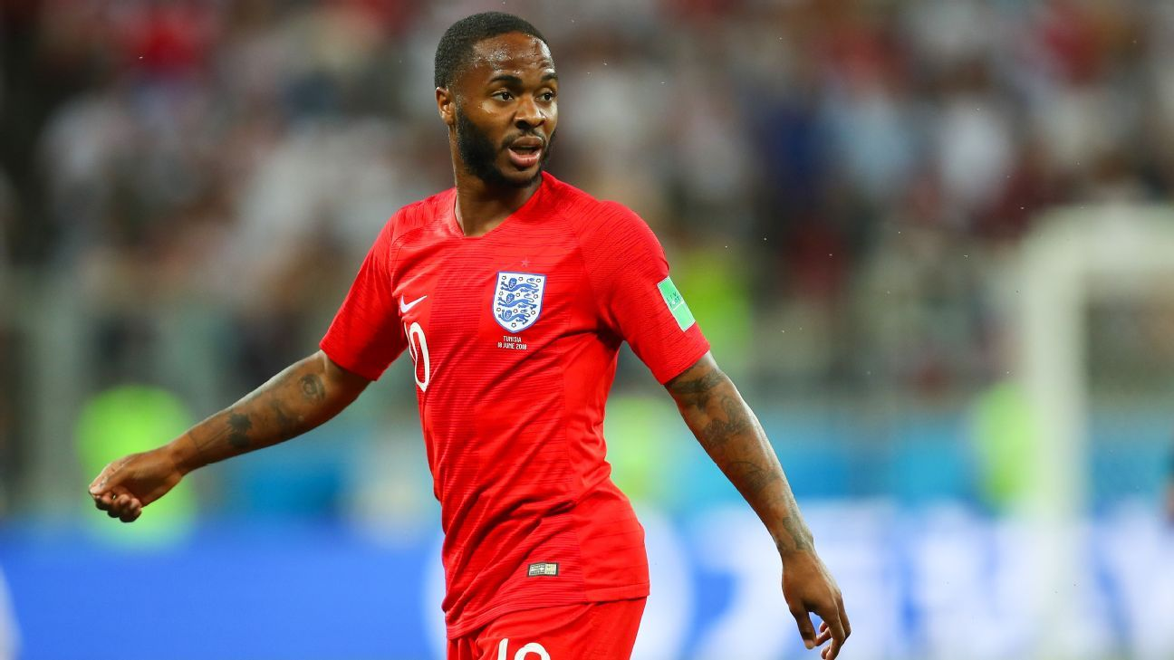 Raheem Sterling struggled to make an impact during England's World Cup win against Tunisia.