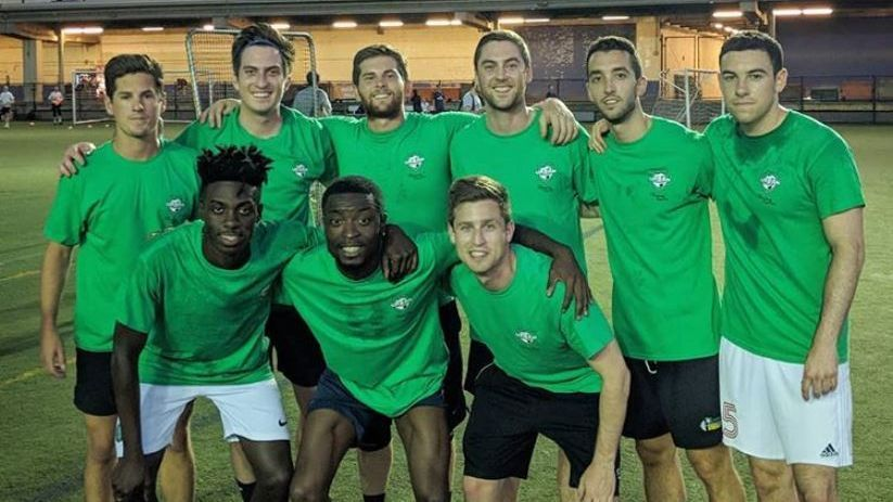 PSG, U.S. starlet Timothy Weah joined a men's amateur team for a game in New York City