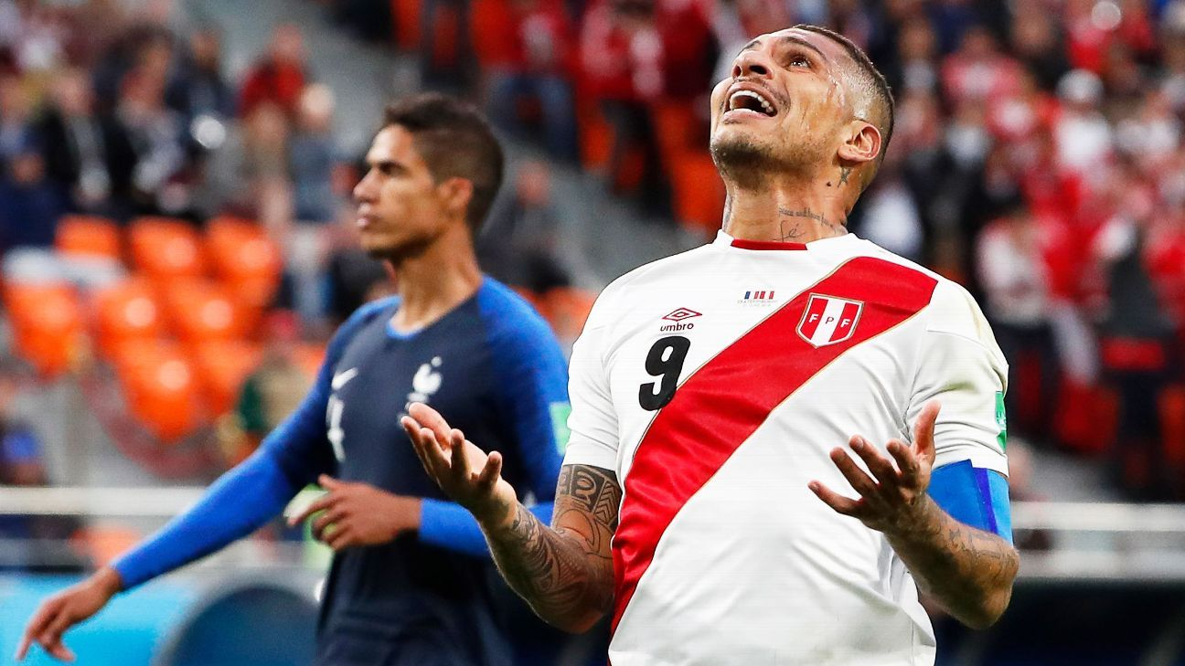 Paolo Guerrero tested positive for a metabolite of cocaine.