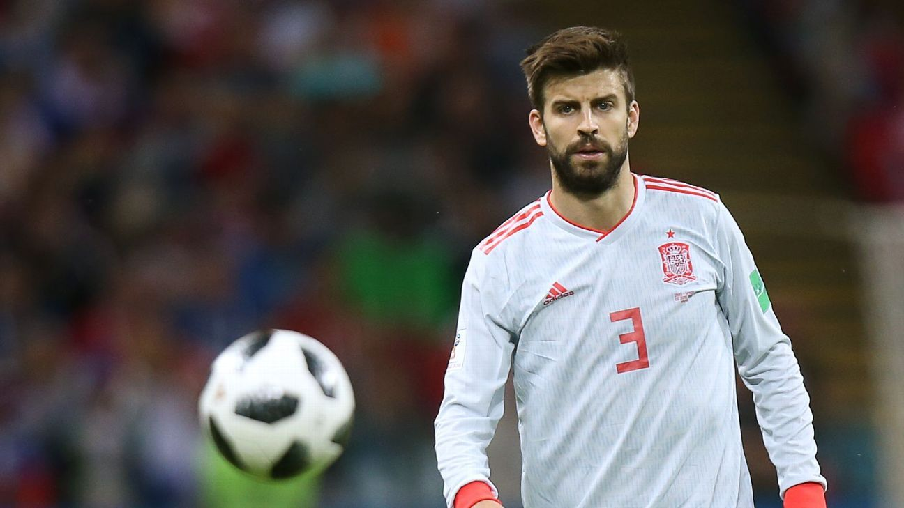 Spain's Gerard Pique.
