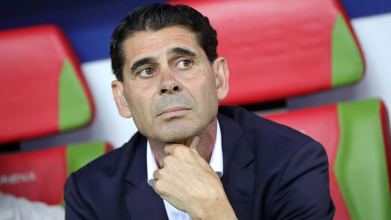 Fernando Hierro has made clear he's not just here to be an interim coach and is clearly taking charge to make this his Spain team.