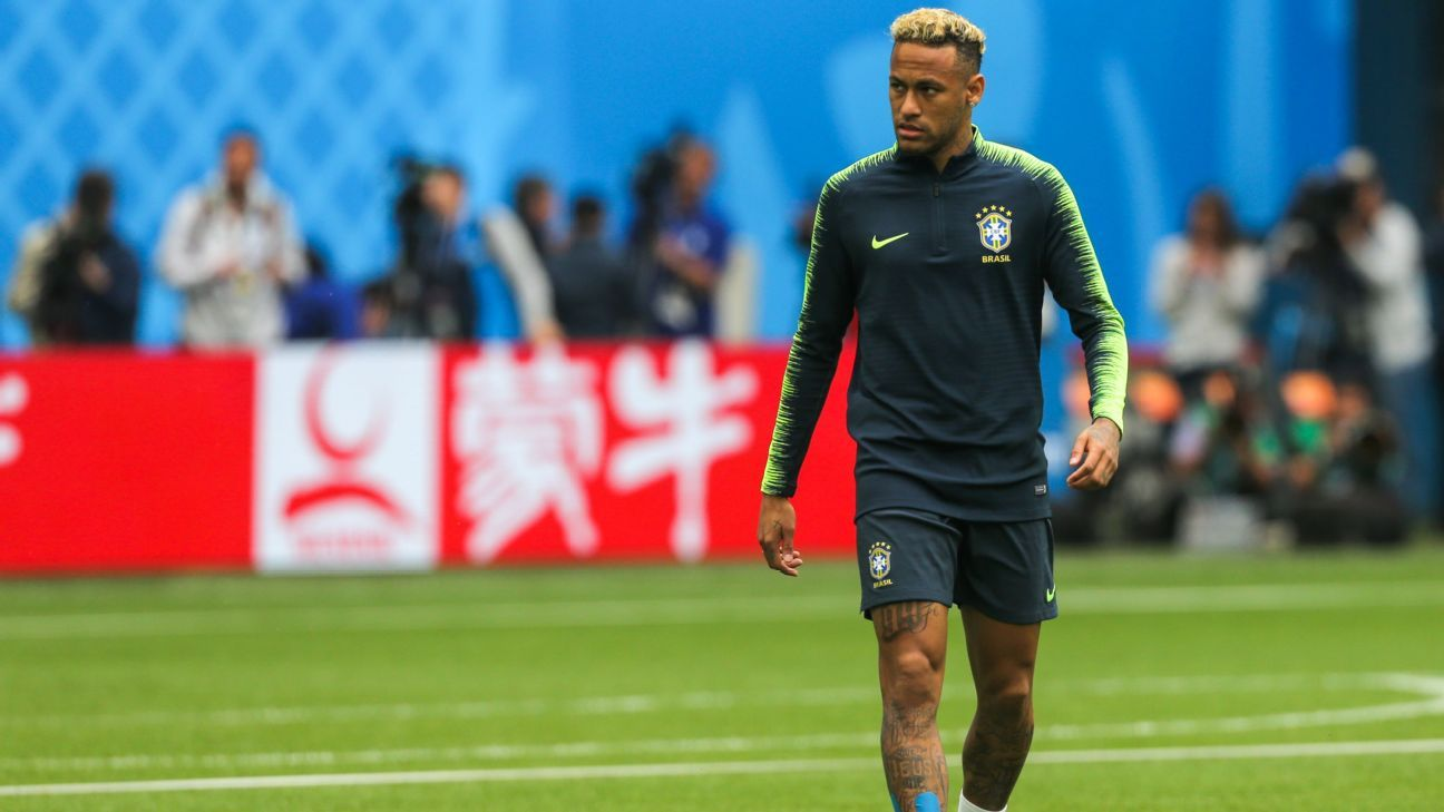 All eyes will be on Neymar, as normal, when Brazil face Costa Rica on Friday.