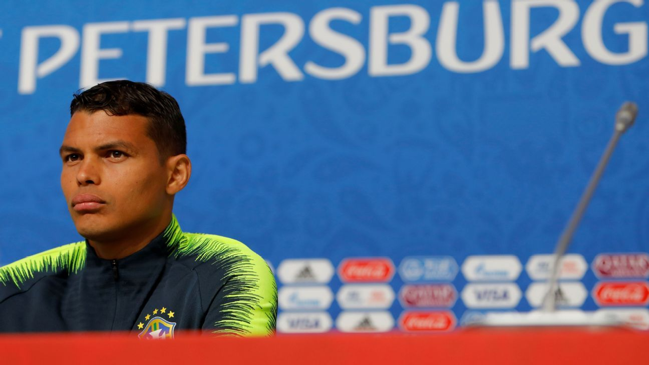 Thiago Silva has endured a tough time for Brazil since 2014 but is back and wearing the armband again in Russia.