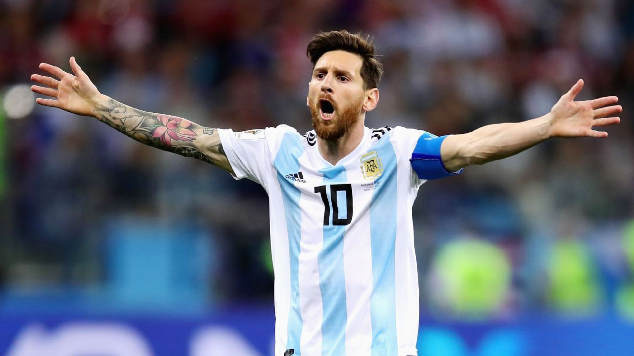 Lionel Messi was unable to prevent Argentina losing 3-0 to Croatia.