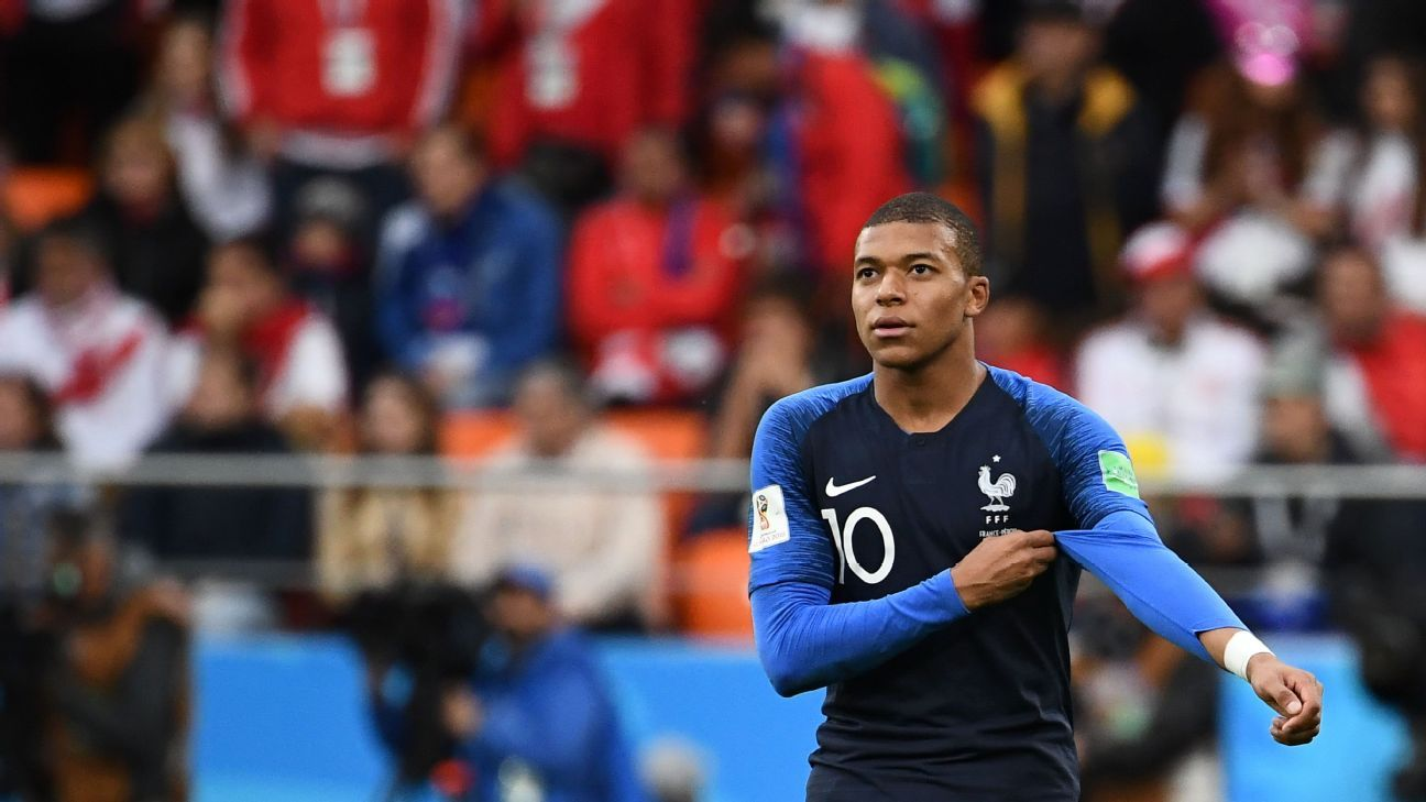 Kylian Mbappe's fifth international goal was enough to give France victory over Peru.