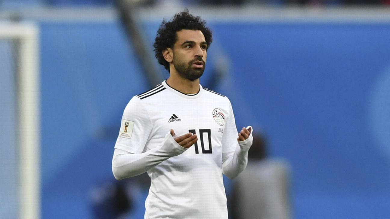 Mohamed Salah has not replicated his club form for Egypt at the World Cup.