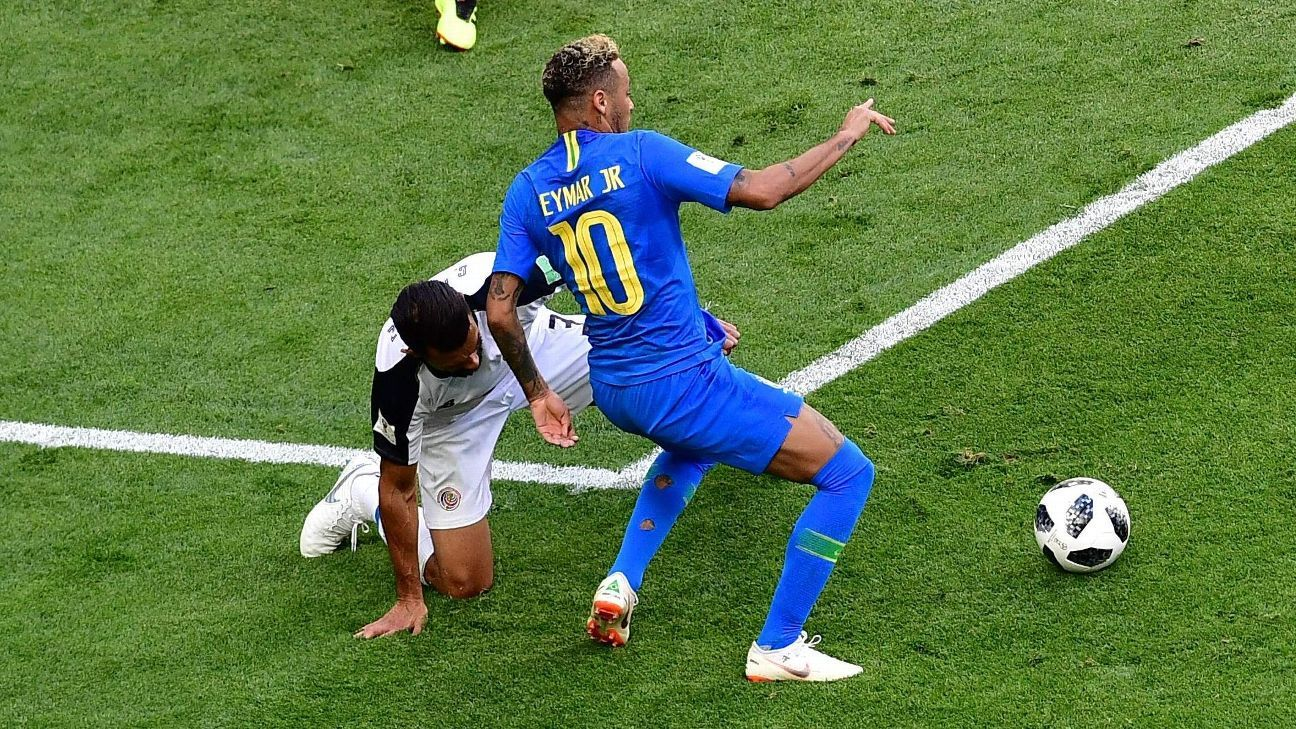 Neymar not the only diver at World Cup - Manchester United's Jose Mourinho