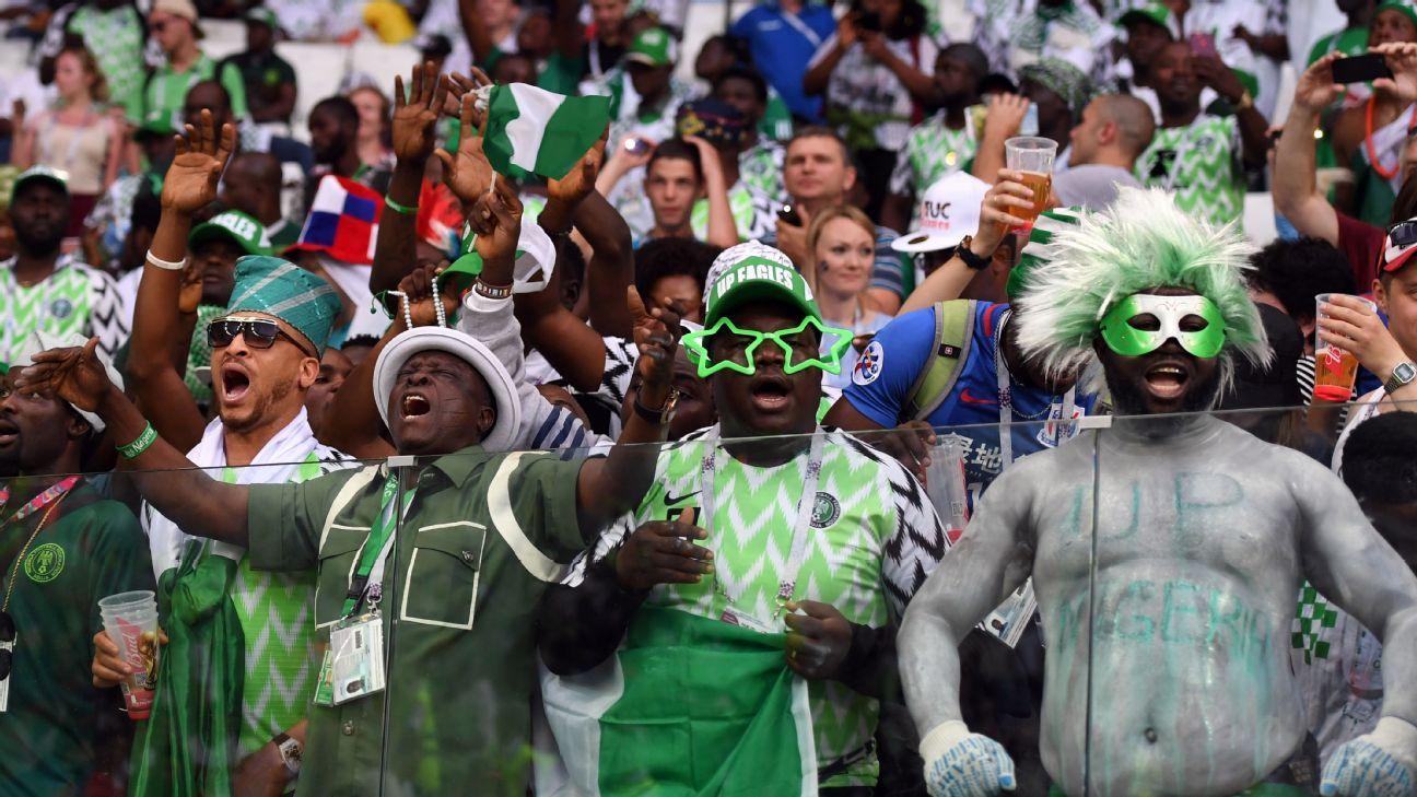 Nigeria's fans.