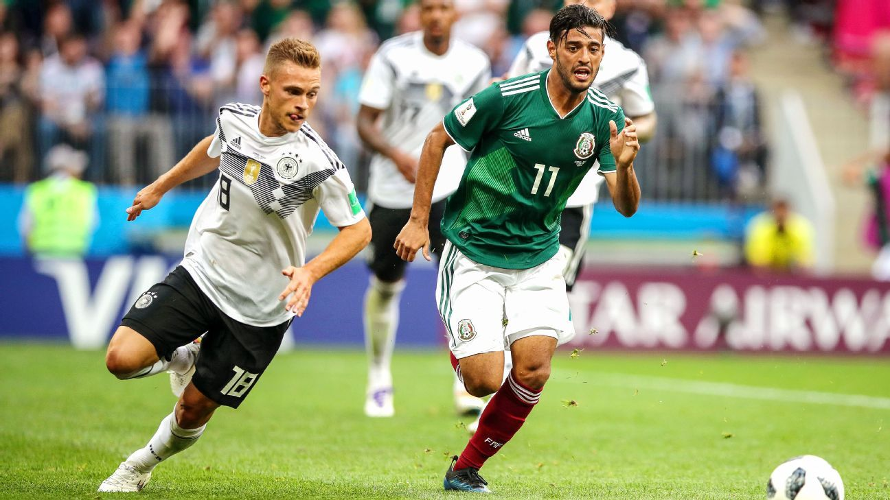 Carlos Vela showed against Germany that he's still one of Mexico's best options.