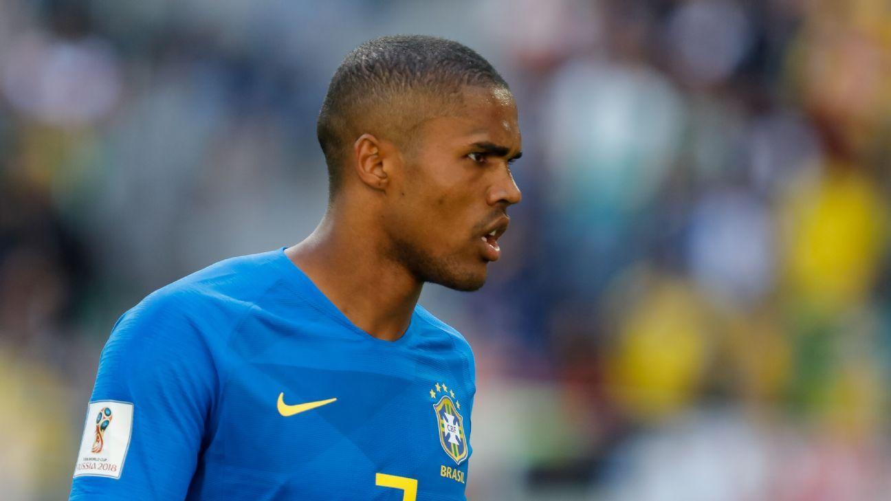 Brazil's Douglas Costa
