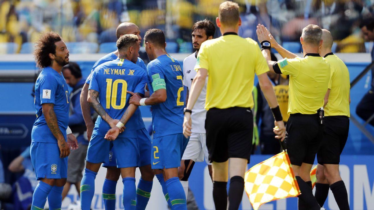 Brazil Neymar Thiago vs Costa Rica 180623