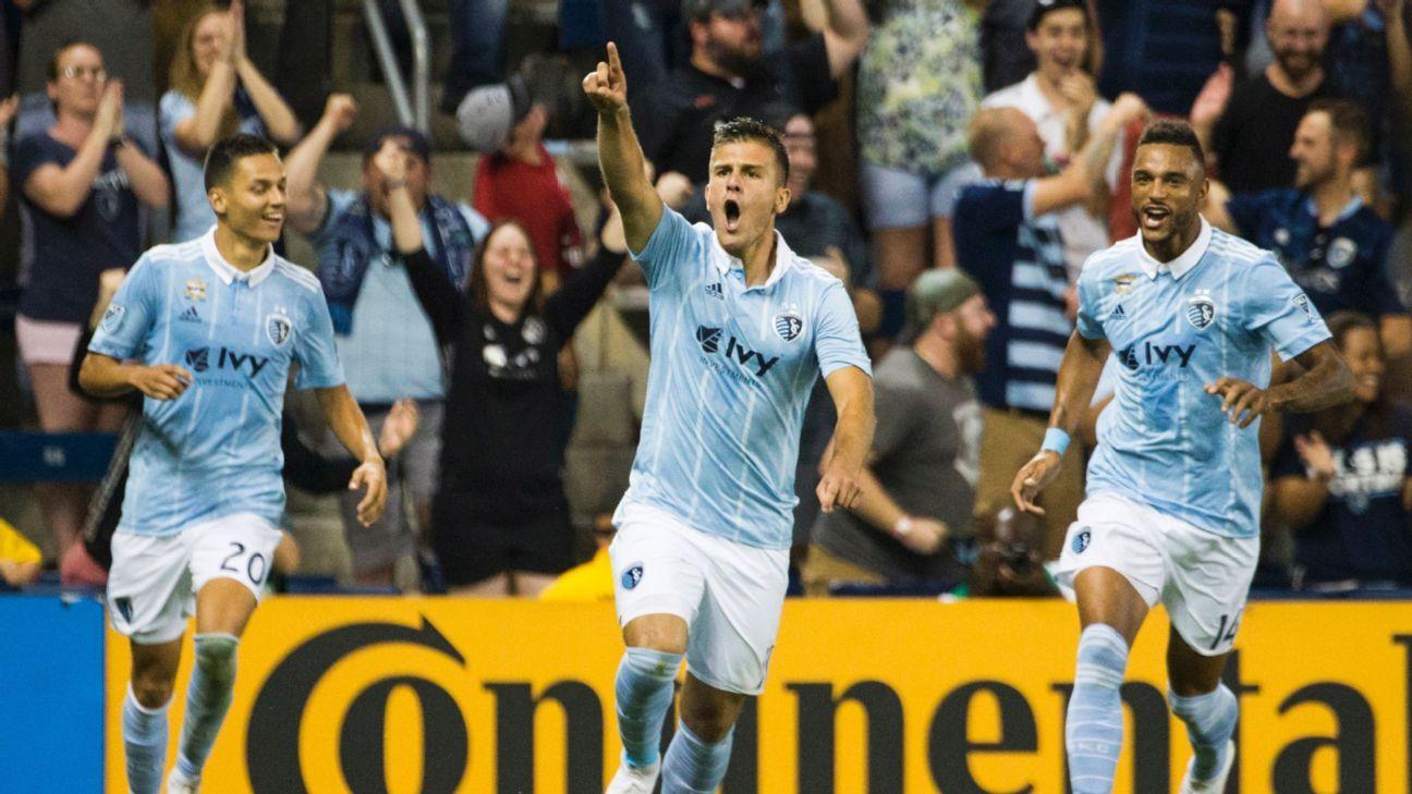 Rubio's goal, Melia's shutout lifts Sporting Kansas City past Dynamo