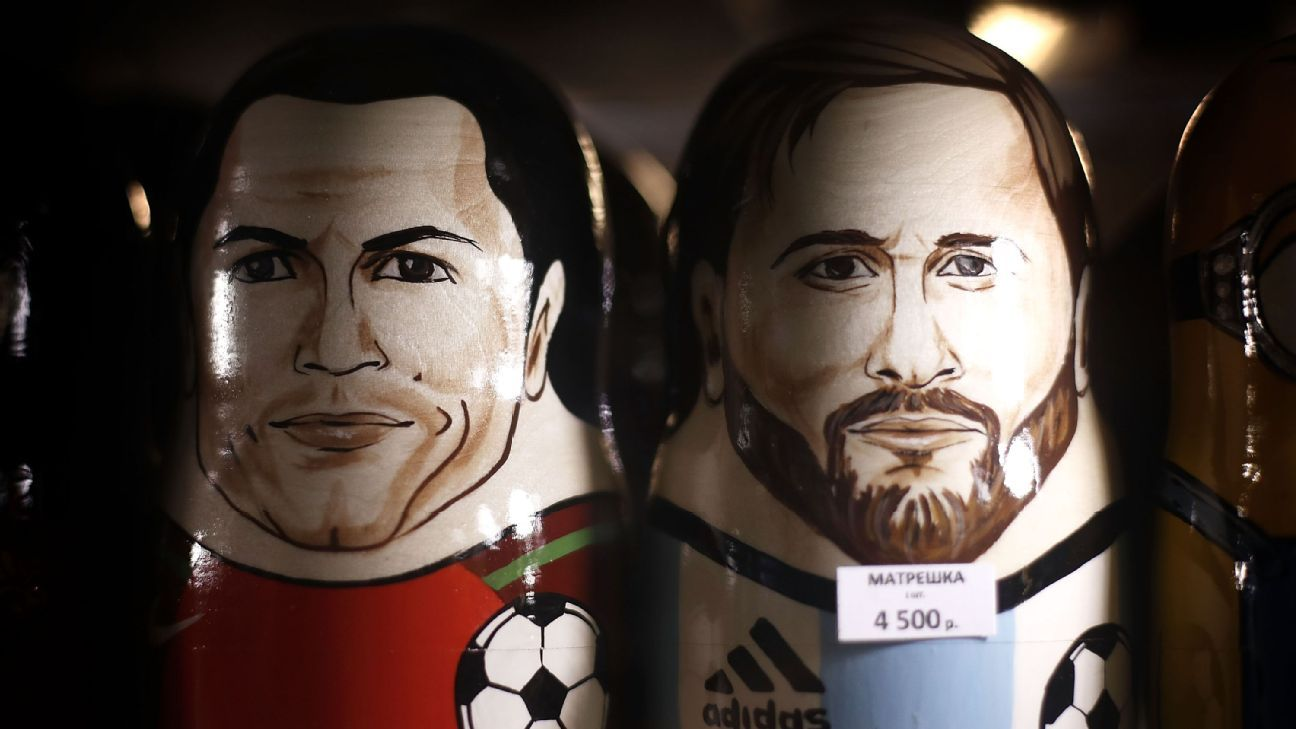Lionel Messi and Cristiano Ronaldo will captain their respective nations.