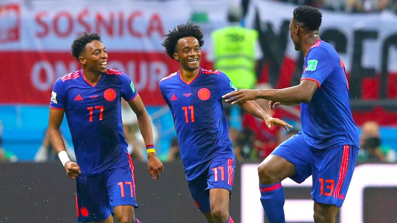 After a narrow defeat in their first game, Colombia showed what they can do vs. Poland.