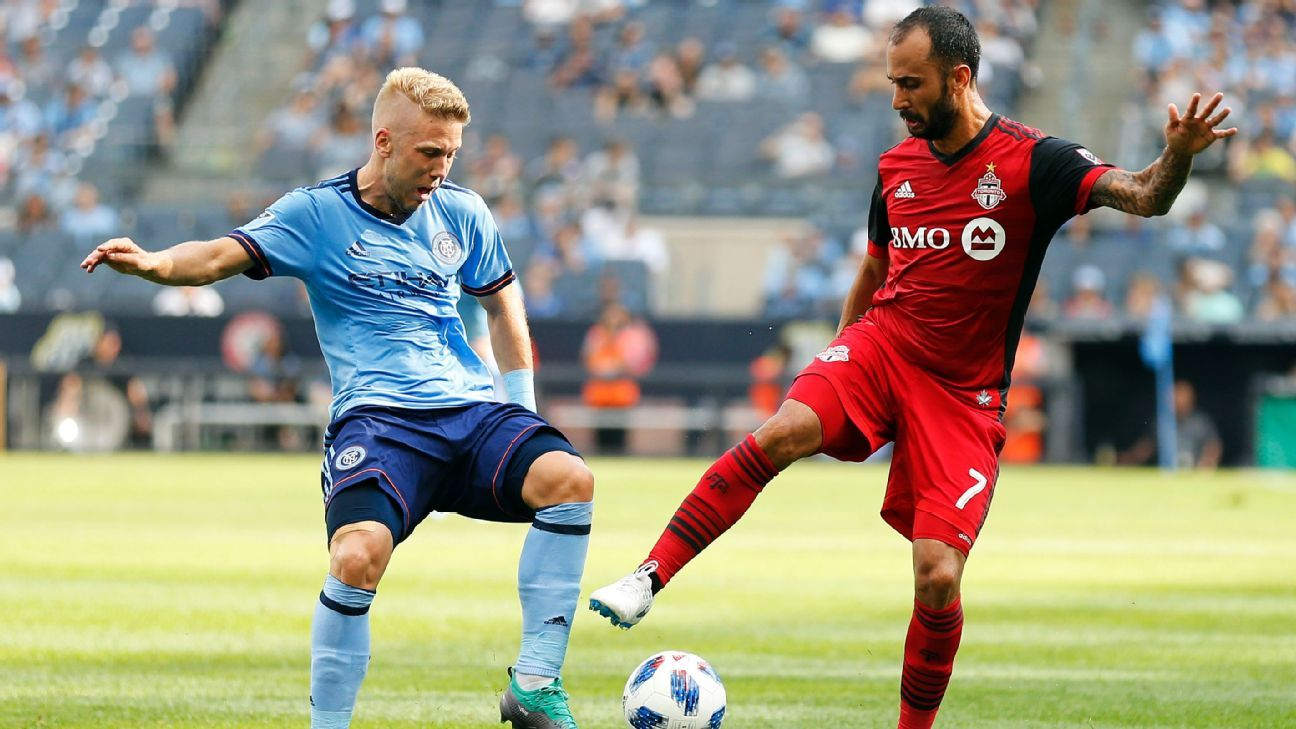 NYCFC begin post-Patrick Vieira era with win vs. Toronto FC; David Villa injured