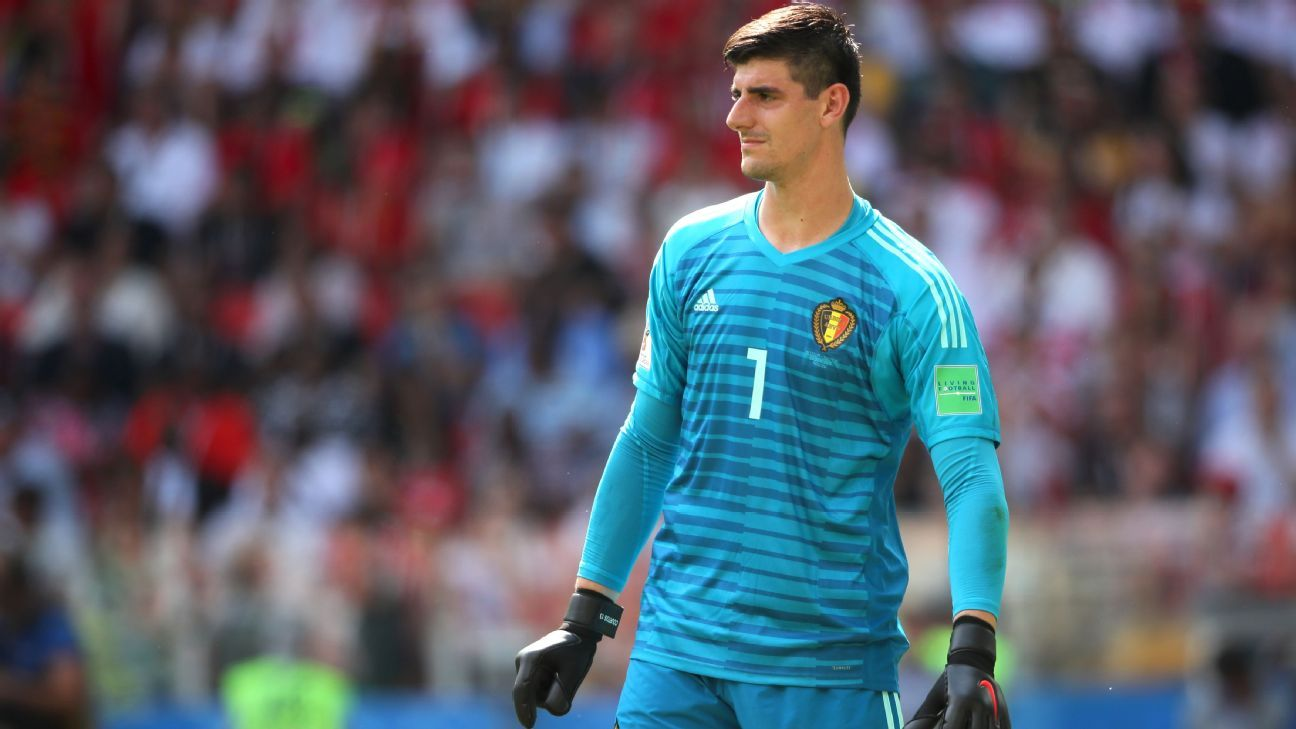 Thibaut Courtois has helped Belgium beat Panama and Tunisia at the World Cup.
