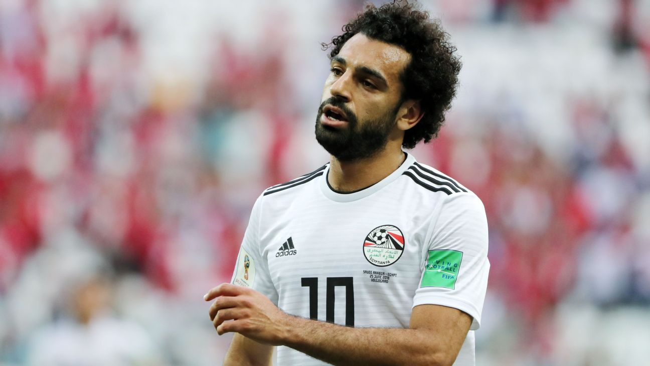 Mohamed Salah of Egypt