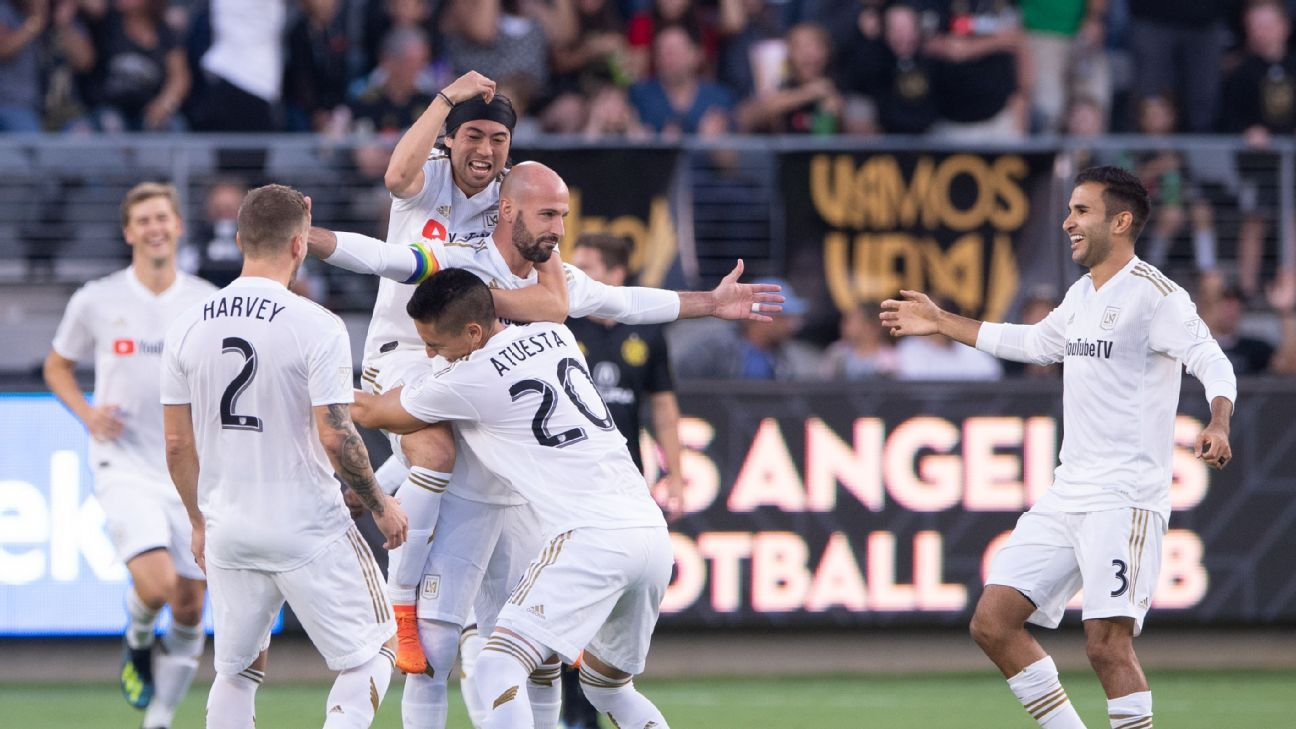 LAFC have continue to chug along despite star Carlos Vela's absence.