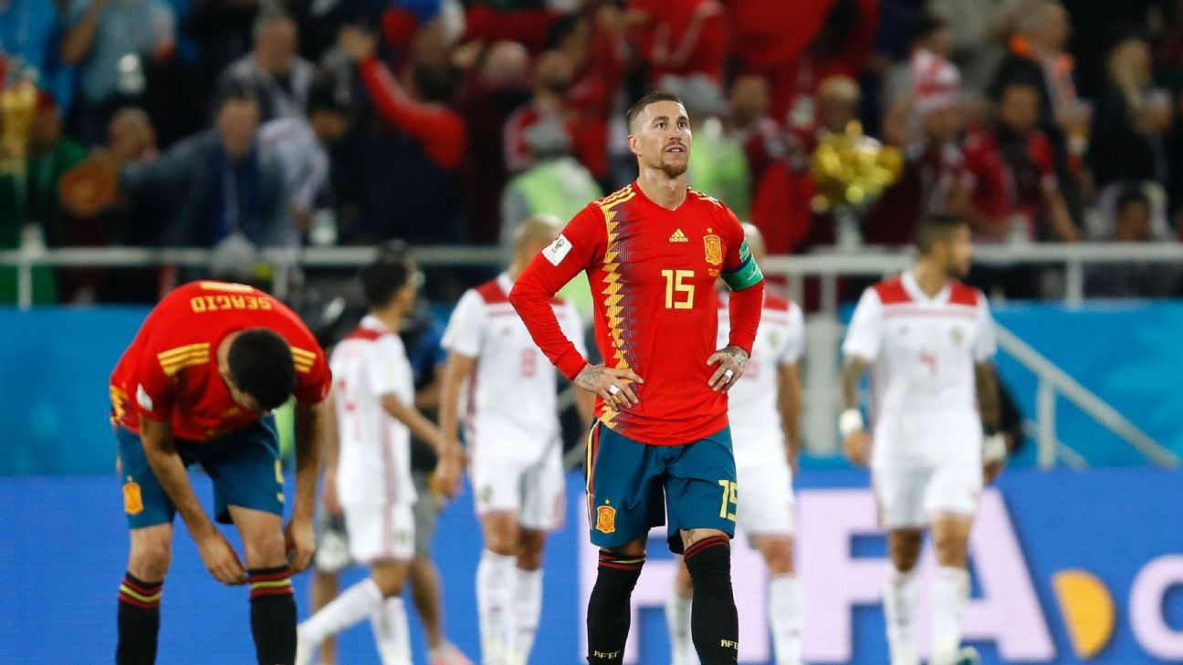 Sergio Ramos and Spain's defence need to tidy up if they want to stay in the World Cup long.