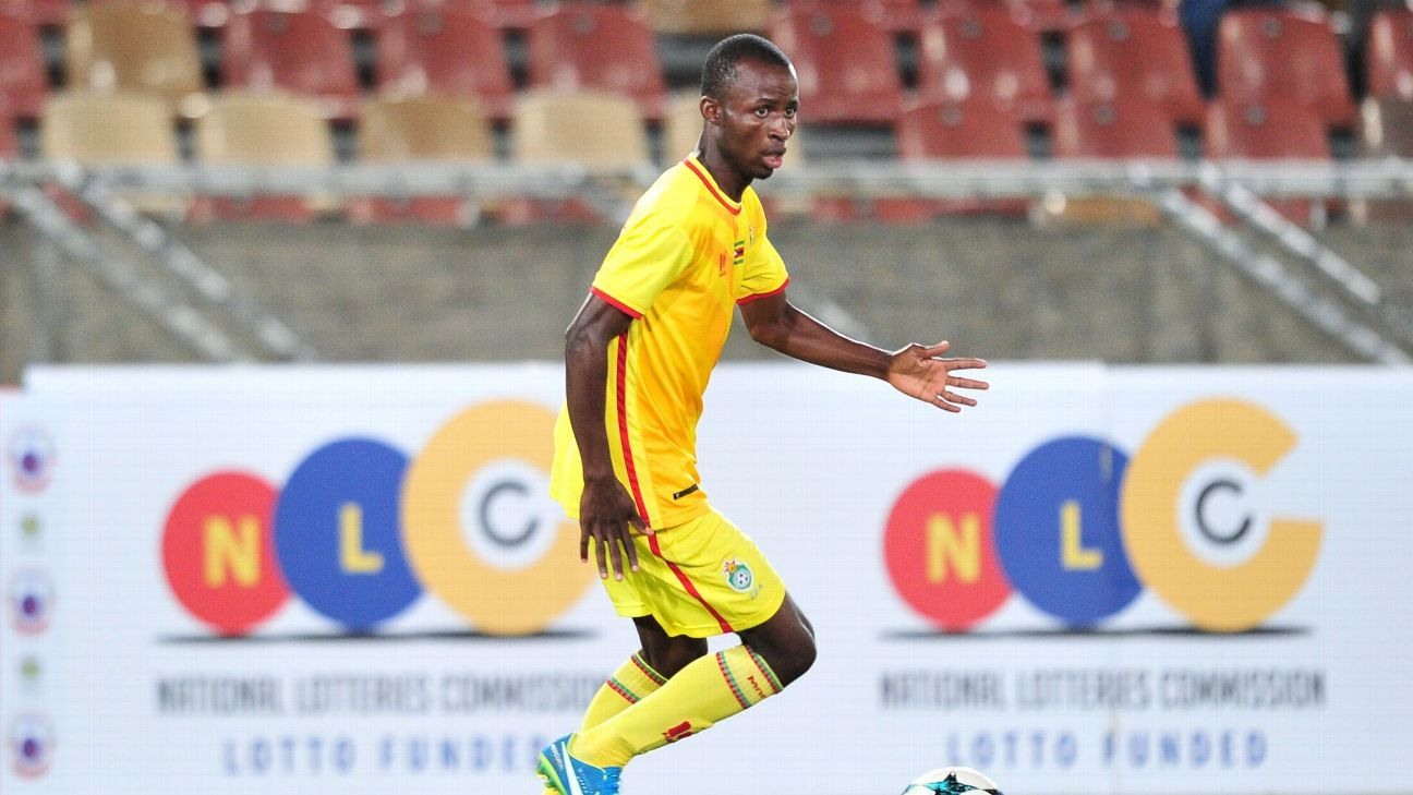 Terence Dzvukamanja made his Zimbabwe debut during the 2018 COSAFA Cup.