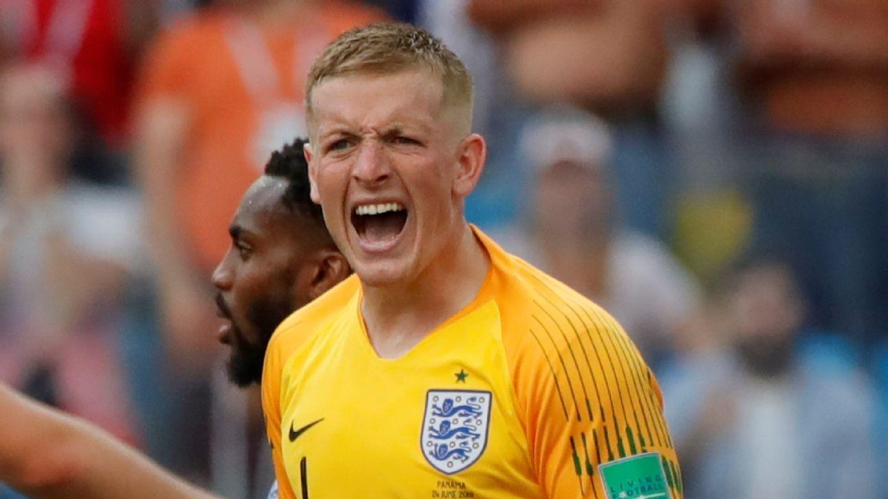 England's Jordan Pickford