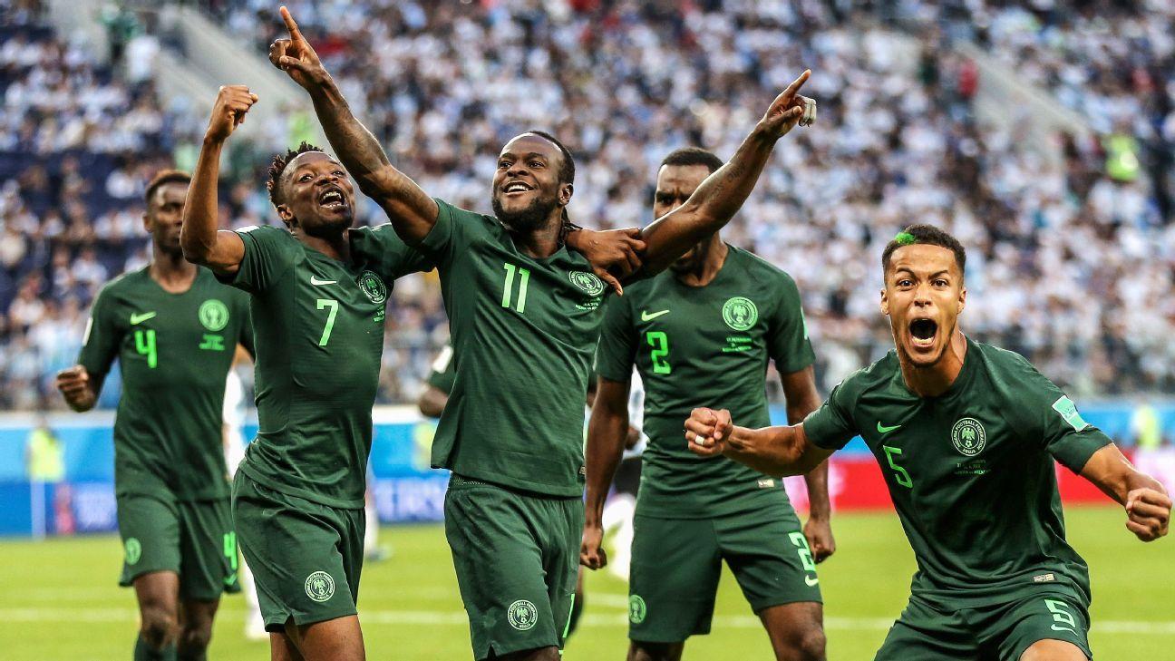 Nigeria up in latest FIFA rankings, Kenya big climbers