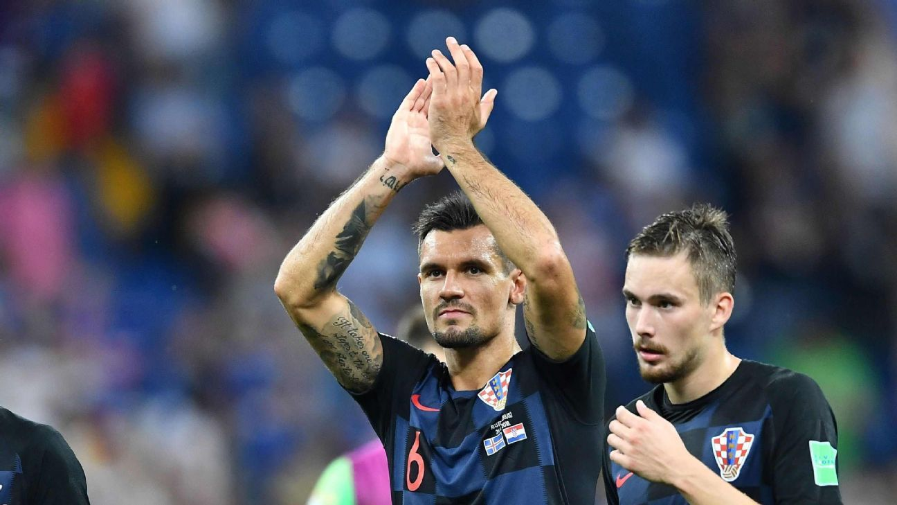 Liverpool's Jurgen Klopp backs Dejan Lovren after Croatia's World Cup run