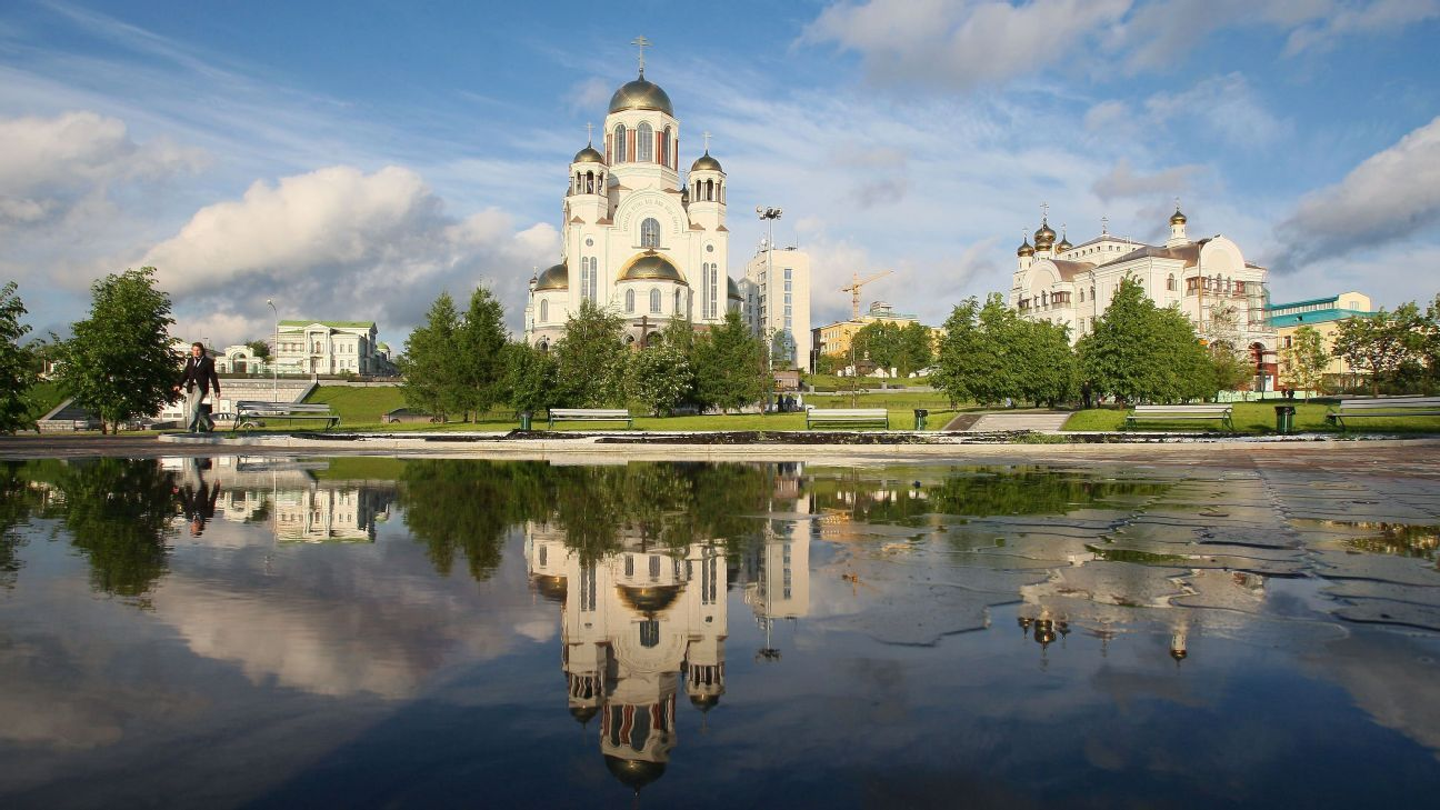The Church on the Blood reflected in City Pond.