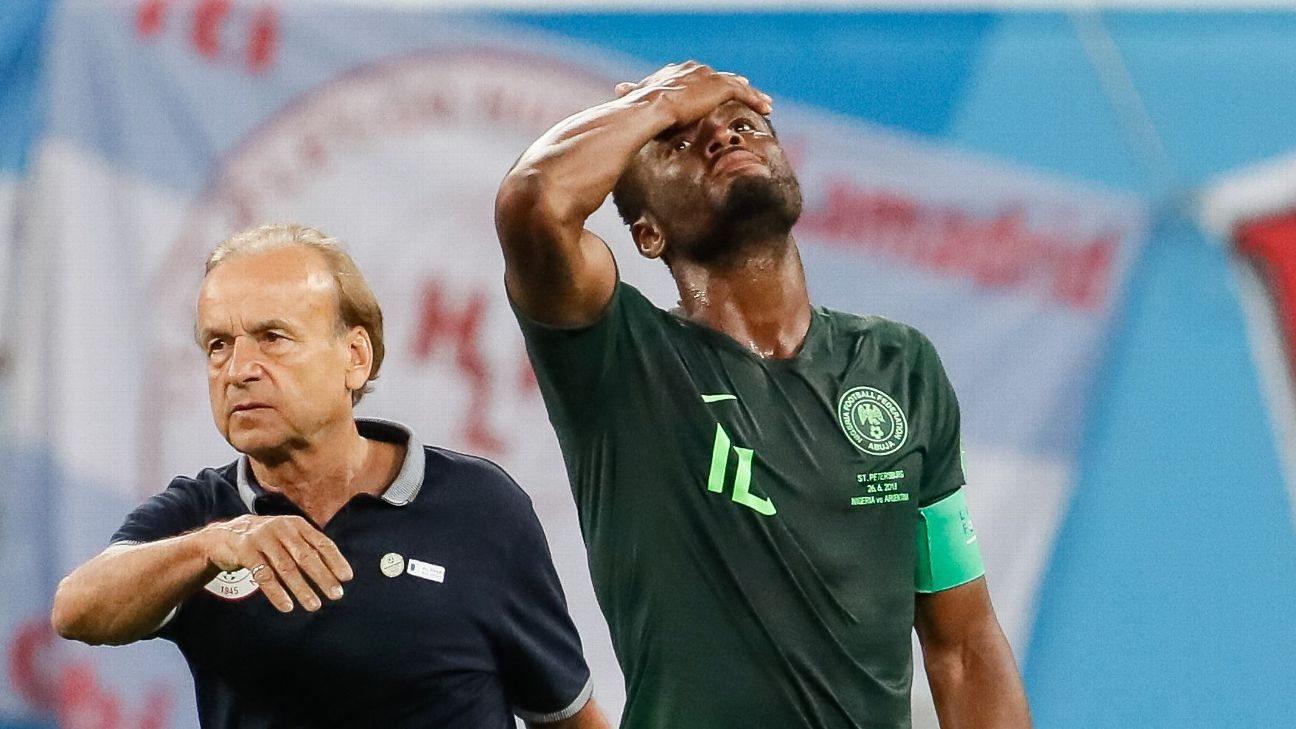 Gernot Rohr knew nothing of John Obi Mikel's plight, only finding out when the news broke of the rescue on Monday afternoon.