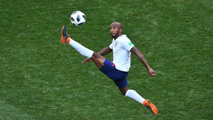 England midfielder Fabian Delph