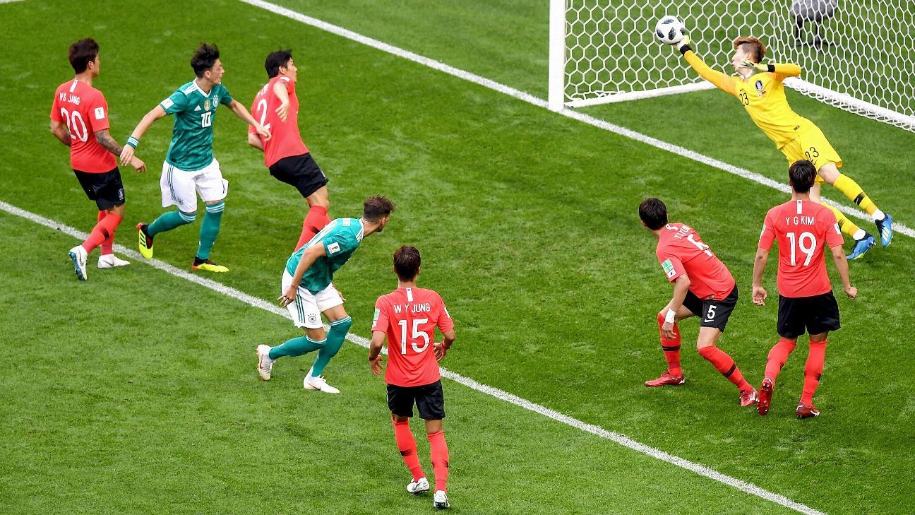 South Korea secured a memorable 2-0 win over Germany at the 2018 World Cup.