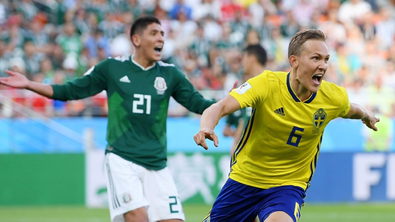 Sweden fully deserved their victory over Mexico, a result that still sees both sides advancing.