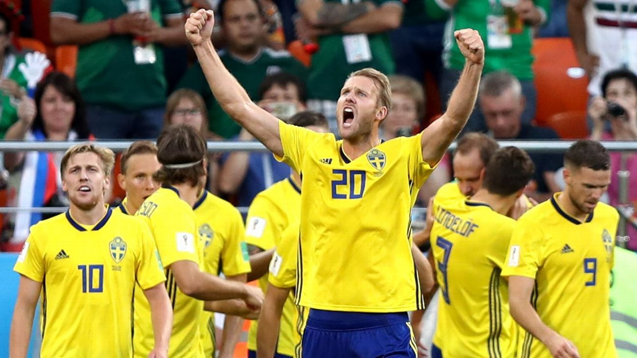 Sweden were surprising group winners. Can they advance in the knockout rounds?