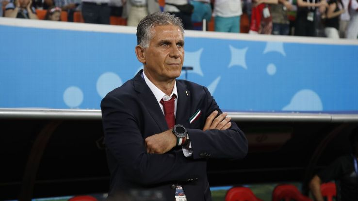 Carlos Queiroz was famous in his time in England for being serving as Sir Alex Ferguson's assistant coach at Manchester United.