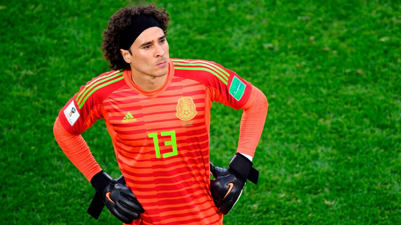 Guillermo Ochoa will have to be at his best to stop Brazil.