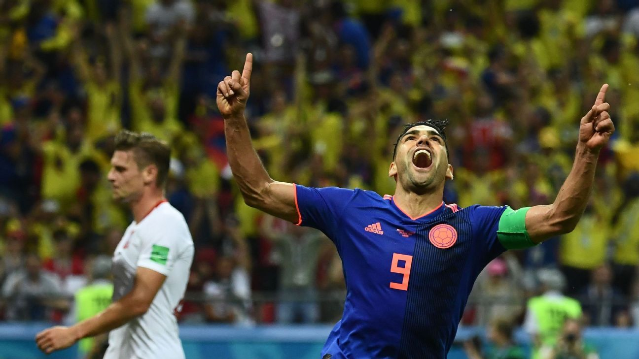 Falcao's chance to lead Colombia's charge in 2014 was taken away from him by injury but his resurgence in 2018 is a joy to behold.