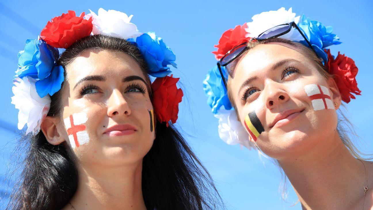 England fans in Kaliningrad