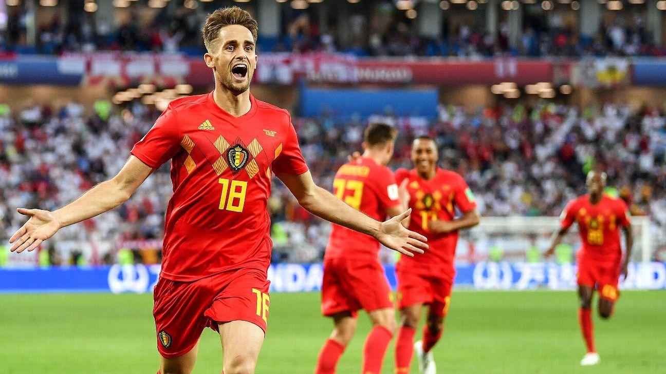Adnan Januzaj scored a stunning goal in Belgium's win over England.