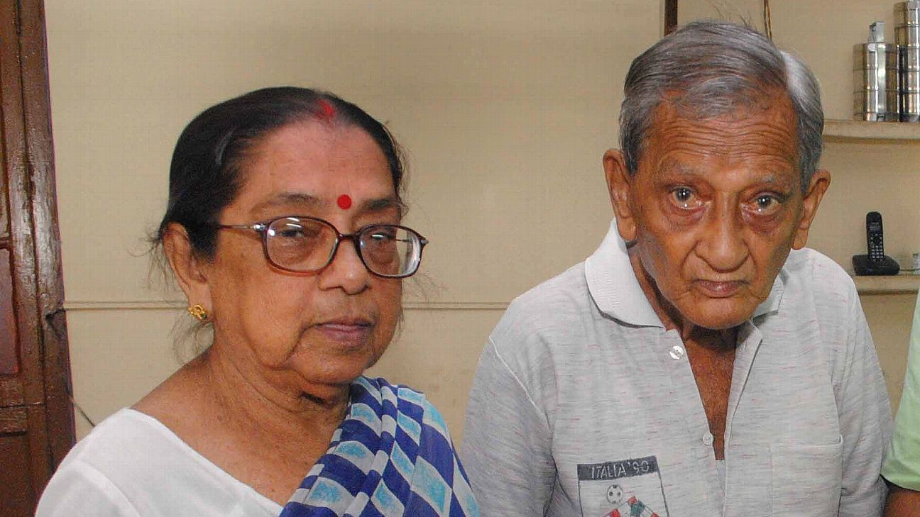 Pannalal and Chaitali Chatterjee have been to every World Cup since the 1982 edition in Spain