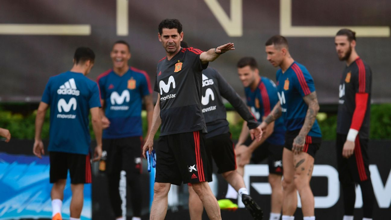Fernando Hierro is under pressure to make big changes as Spain head into a winner-take-all date with World Cup hosts Russia.