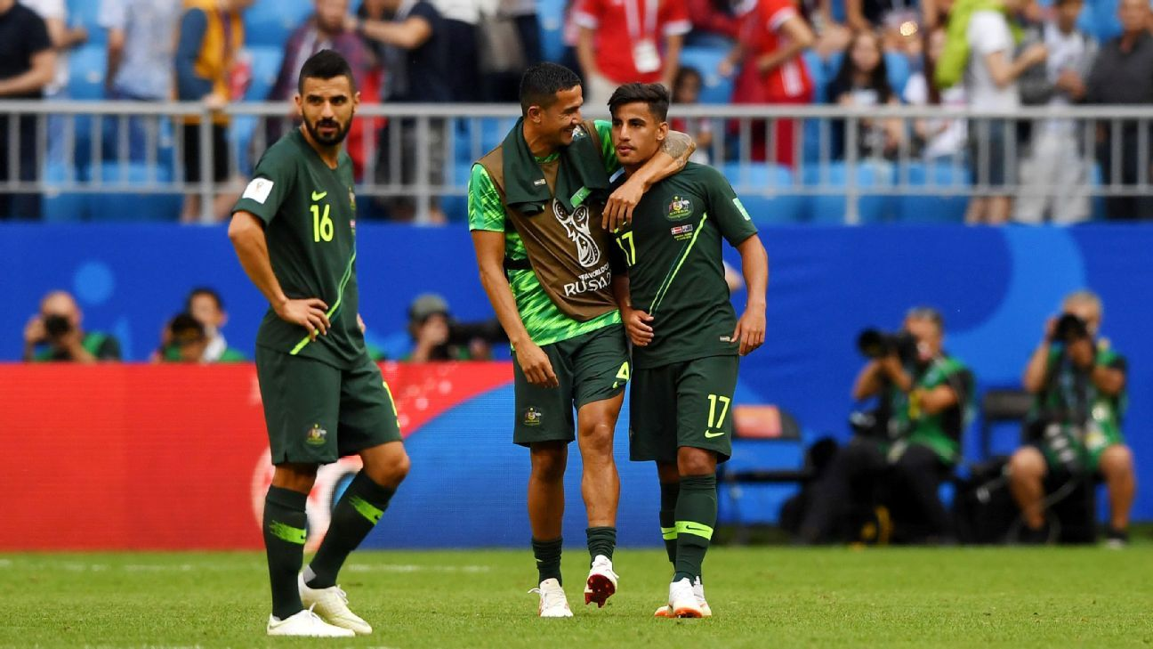 The World Cup may have seen the torch pass from Tim Cahill to Daniel Arzani.