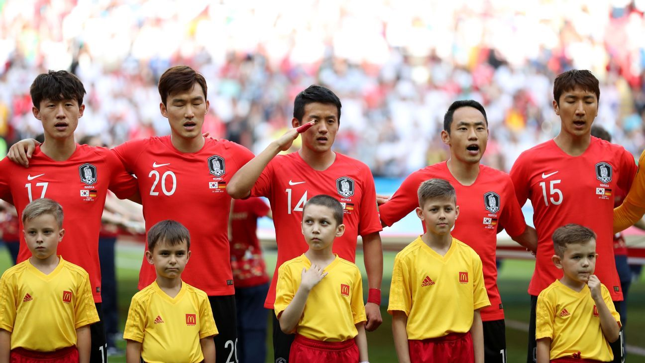 South Korea exited the World Cup despite beating Germany 2-0.