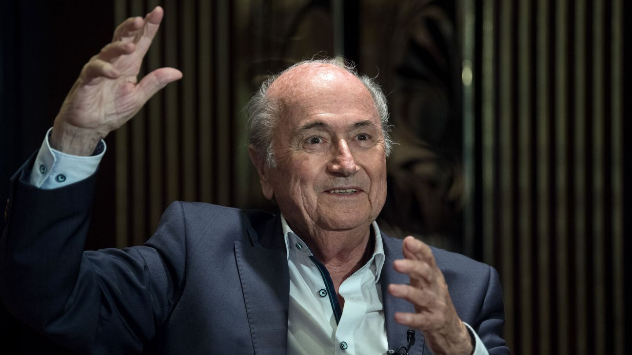 He's back.... disgraced former FIFA president Sepp Blatter was reportedly invited to the World Cup by Russian president Vladimir Putin.