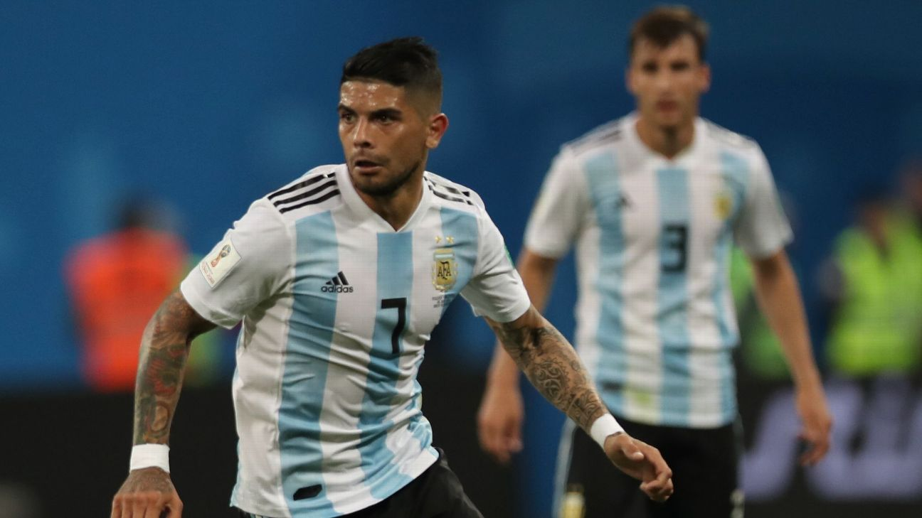 Ever Banega needs to be a key man if Argentina are to get past France on Saturday.